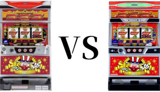 「6号機アイムジャグラーEX」VS「5号機アイムジャグラーEX」性能比較、ジャグ連のしやすさは?【アイジャグ世代交代】